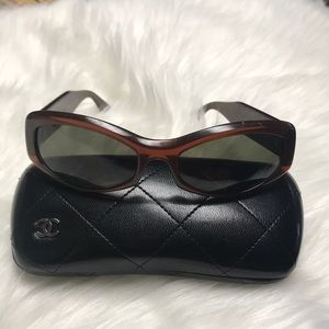 CHANEL Chocolate Bar Quilted CC 5029
